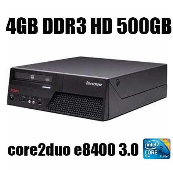 Computador Lenovo Mt-m6234 Core2duo Hd500gb 4gb Ddr3