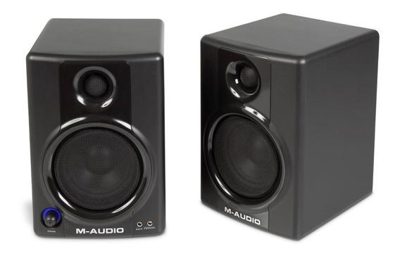 Monitores De Áudio M-audio Studiophile Av30 (par)