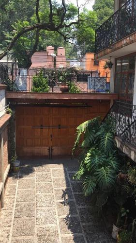 Excelente Casa Coyoacán Cerca Miguel Ángel De Quevedo