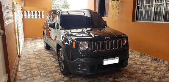 Jeep Renegade 1.8 Sport 2016 Automático Preto