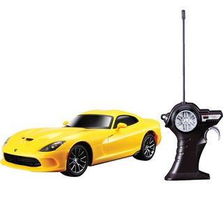 Carro Controle Remoto 1:24 Srt Viper Gts Amarelo 2013 Maisto