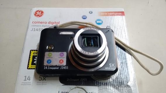 Câmera Digital Ge J1455 14.1 M.pixel, Carregador E Bateria