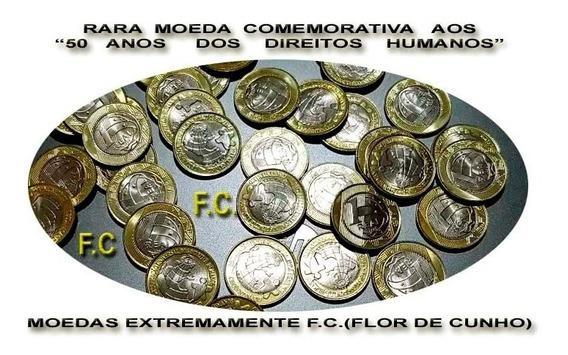 Moeda Comemorativa Aos Direitos Humanos Linda F.c.