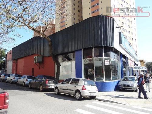 Salão Comercial Para Locação, Rudge Ramos, São Bernardo Do Campo. - Sl0016