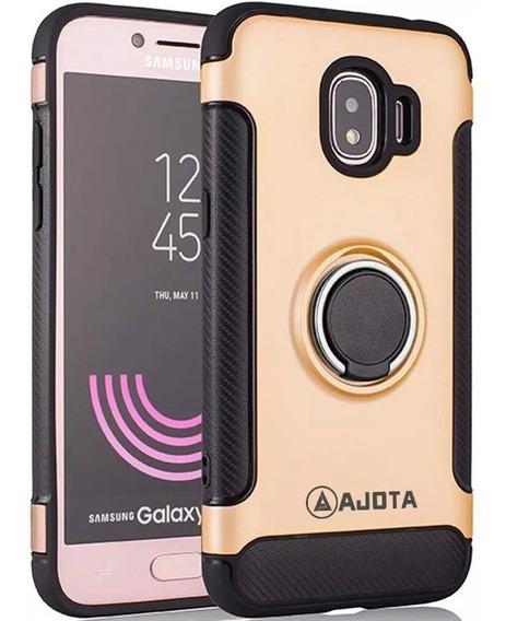 Forro Ajota Anillo Antigolpe Samsung Galaxy J4 2018