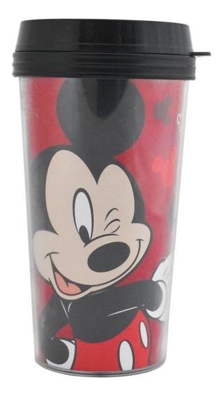 Termo Taza Cafe Disney Mickey Mouse Vaso Termico 16oz