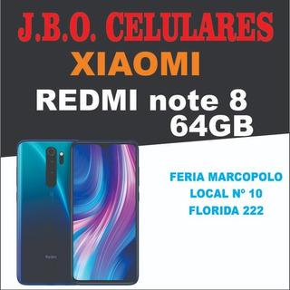 Xiaomi Note 8 Disponible Todos Los Colores 64gb/4ram