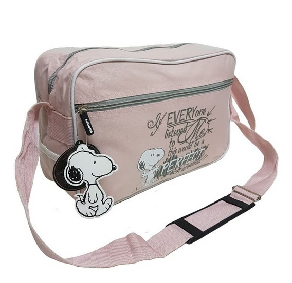 Único! Morral Bolso Snoopy Perfect 100% Original Importado!