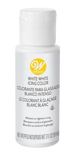 Imagen 1 de 4 de Colorante Para Glaseado Blanco Intenso Wilton - No Full