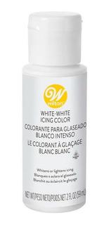 Colorante Para Glaseado Blanco Intenso Wilton - No Full