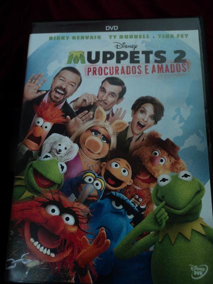 Dvd-muppets 2:procurados E Amados:disney:novo