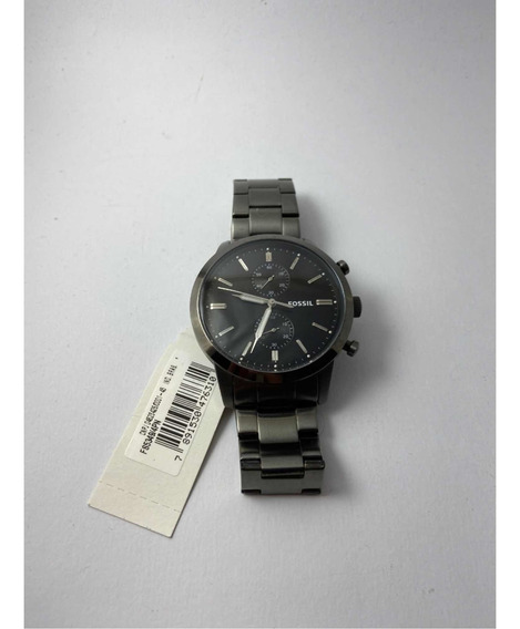 Relógio Fossil Townsman Masculino Cronógrafo - Fs5349/4pn