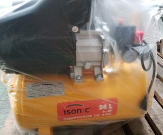 Compresor De Aire 24 Litros - 2 1/2 Hp - Nuevo