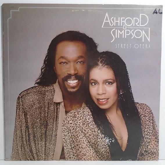 Ashford & Simpson 1982 Street Opera Lp Importado Com Encarte
