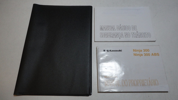 Manual Moto Kawasaki Ninja 300 / 300 Abs 2013 2014 Original