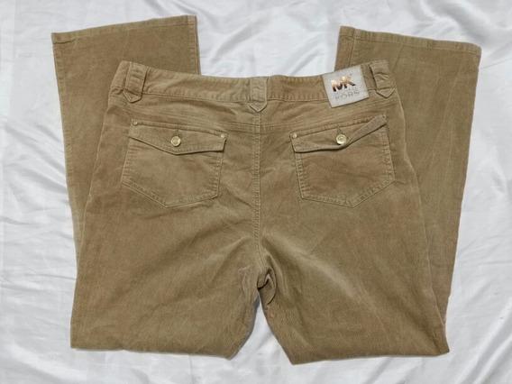 Michael Kors Pantalon Cafe De Pana Tallas Extras 14 Xl Jeans