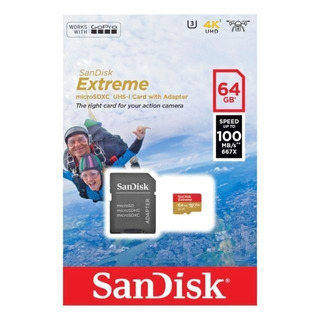 Memoria Microsd Sandisk Extreme 64gb A1 V30 100mb/s 4k Celus