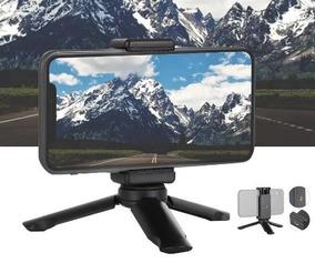 Mini Tripé De Mesa Com Suporte Para Smartphone.
