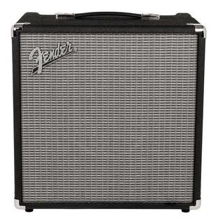 Amplificador Fender Rumble 40 40W transistor negro y plata 120V