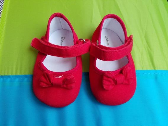 Zapatos De Bebe Rojo