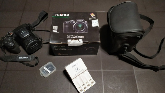 Câmera Fotográfica Semi Profissional Fujifilm S4800