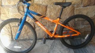 Bicicleta Mountain Raleigh Rodado 24 Poco Uso