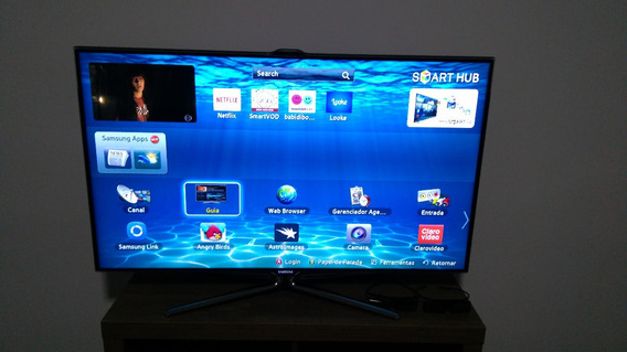 Tv Led 3d Samsung Full Hd Super Slim 46 Polegadas Perfeita