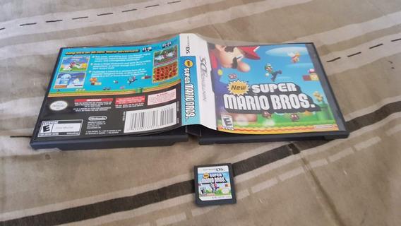 New Super Mario Bros Com Caixa Funcionando Do Nds F2