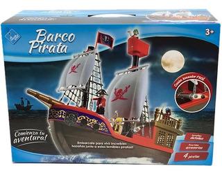 El Duende Azul Barco Pirata Con Figuras Jlt 6442 La Torre