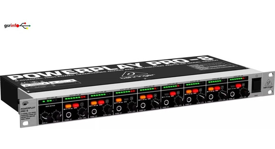 Power Play Pro-8 Behringer Ha8000 + 9 Cabos 100 %