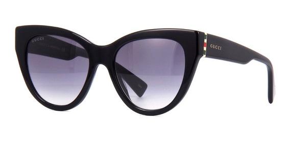 Óculos De Sol Gucci Gg0460s 001 Acetato Feminino