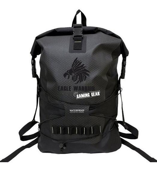 Mochila Eagle Warrior Gamer Color Negro/gris Abackpack000 /v
