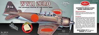 Modelo Kit De Corte Láser De La Segunda Guerra Mundial Cero