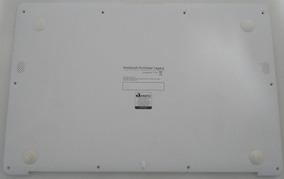 Carcaça Base Tampa Notebook Multilaser Legacy Pc102 Branca