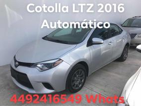 Toyota Corolla 1.8 Le At 2016