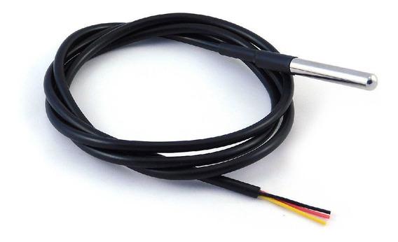 Ds18b20 Sensor Temperatura À Prova D´água Waterproof/arduino