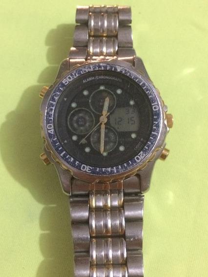 Relógio Citizen C450 Funcionando Apenas Digital