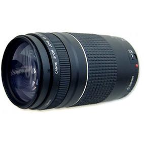 Lente Canon Ef 75-300mm F/4-5.6 Iii Lacrada Com Nf