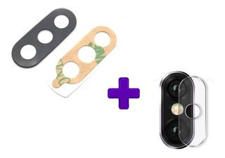 Lente Vidro Camera Traseira + Pelicula Proteção Xiaomi Mi A2
