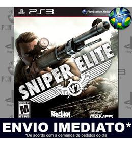 Sniper Elite V2 Ps3 Promoção Midia Digital Envio Imediato