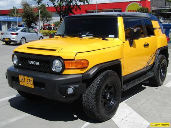 Toyota Fj Cruiser Black Edition At 4.0 4x4