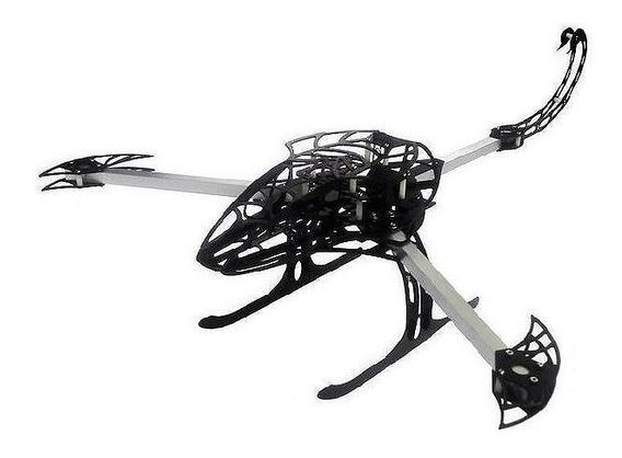 Frame Drone Tricoptero Hexacoptero Scorpion Y650 Novo