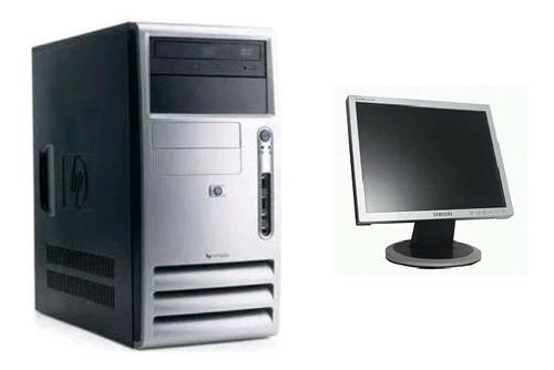 Imagem 1 de 3 de Desktop Pdv  Hp Athlon 64, 2gb, Hd 80/160gb+monitor 17