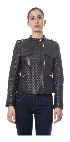 Chaqueta De Cuero Trussardi Collection