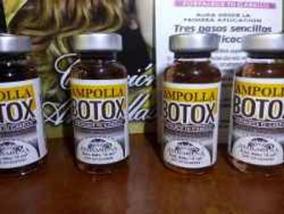 Ampollas De Botox Para El Cabello Sabila Cristal