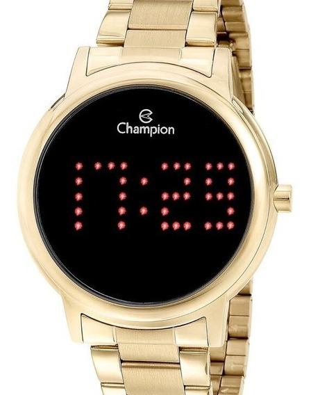 Relógio Champion Feminino Digital Dourado - Ch40124j