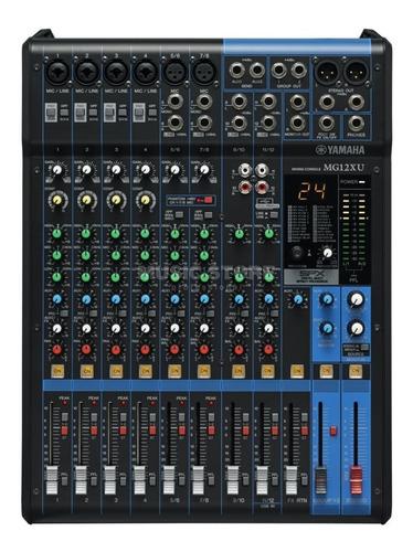 Imagen 1 de 4 de Mezclador Yamaha Mg12xu Consola Pasiva 12 Ch Efect Mixer Mg