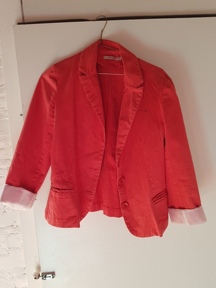 Blazer Mujer Coral Talle 3