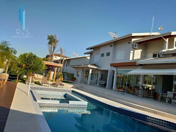 Casa Com 5 Dormitórios À Venda, 450 M² Por R$ 3.000.000 - Condomínio Villagio Capriccio - Louveira/sp - Ca0287
