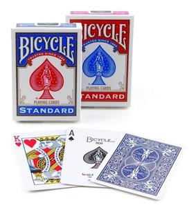 Set 2 Mazos De Naipes Cartas Baraja Bicycle Para Poker Magia